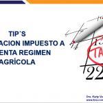 Tips declaraciones PN régimen Agropecuario 2020