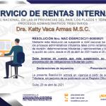Servicio de Rentas Internas, Procesos administrativos y plazos de prescripción suspendidos